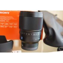 Lente Sony Distagon T* Zeiss Fe 35mm F1.4 Nova
