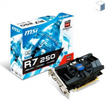 Placa De Vídeo 2gb Radeon R7 250 2gd3 Oc Pci-express X16 3.0