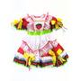 Vestido Junino Infantil Syra - Tamanho 6 Anos