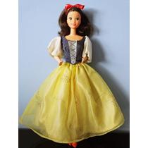 Boneca Barbie Princesa Branca De Neve Estrela Disney Anos 90