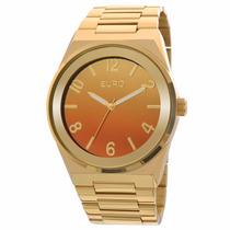 Relógio Euro Feminino Premium Eu2035yaf/4l - Dourado