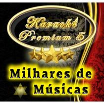 Karaoke Premium 5 - Cante Em Casa / Dvd + Guia Impresso 12x