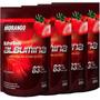 Kit 4x Albumina Naturovos - Sabor Morango - Total 2kg