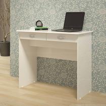 Escrivaninha 2 Gavetas Branca