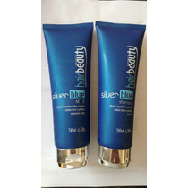Shampoo Siver Blue E Mix Silver Blue Hair Beauty (kit)