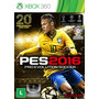 Jogo Pro Evolution Soccer 2016 - Pes 2016 - Xbox 360