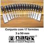 Narex - Conjunto Com 17 Formões Tchecos - 8105 - 03 A 50