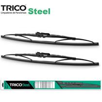 Palheta Limpador Parabrisa Trico S18 2010 A 2016 Steel