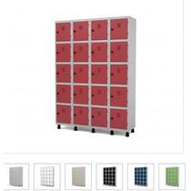 Roupeiro De Aço Com 20 Portas Pequenas Guarda Volume