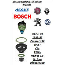 Reparo Bico Injetor Bosch Monoponto Tipo Peug 106 Clio Golf