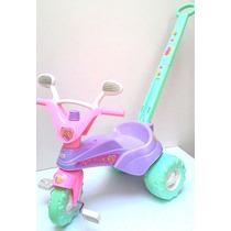 Triciclo Infantil Star Girl Menina - Cotiplás
