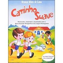 Kit Livros - Cartilha Caminho Suave/caligrafia/baralhinho