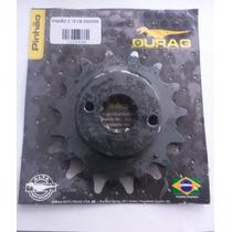 Pinhao 15 Dentes Cb300/xre 300 Aco 1045-durag