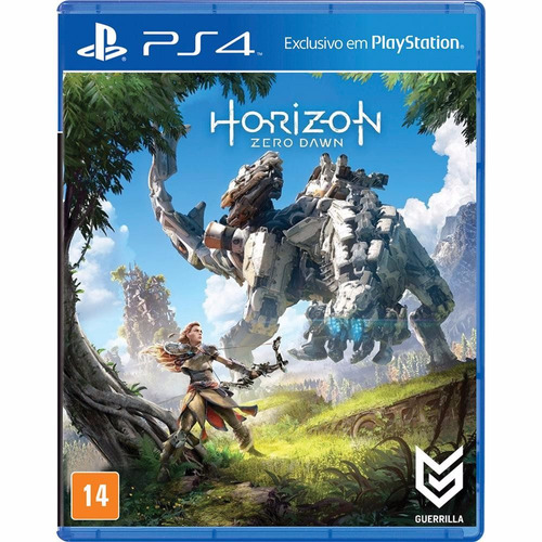 Horizon Zero Dawn Ps4 Playstation 4 Português