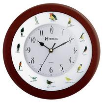 Relógio Parede 30 Cm S/tictac Canto De Passaros Brasileiros