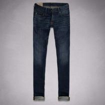 Calça Jeans Skinny Masculina Tam 44 Abercrombie Hollister