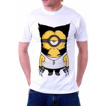 Camisa, Camiseta Minions, Wolwerine