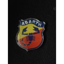 Emblema Auto Relevo Stilo Escudo Logo Abarth