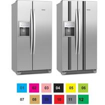 Adesivo Decorativo Geladeira E Freezer