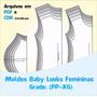Moldes Baby Loock + Curso Corte E Costura