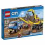 60075 Lego City Escavadeira E Caminhao