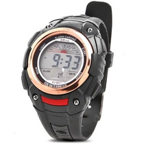 Relógio Masculino Digital Lcd - Cronômetro E Despertador.