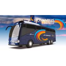 Ônibus Romabus Executive Azul 1900 - 46 Cm - Roma