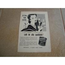 Propaganda Antiga Café Nescafé 1954 Nestlé Leite Chocolate