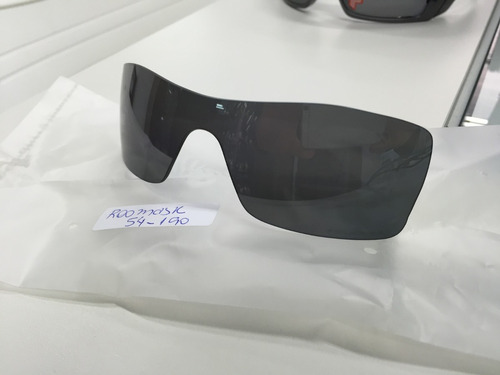 3a67f25400546 Lente Para Oculos Oakley Batwolf Black Iridium