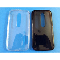 Capa Motorola Moto X Style Xt1570 Silicone + Pelicula Vidro