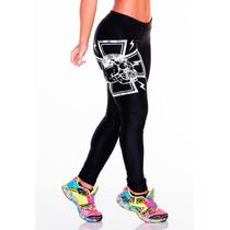 Calça Leg Para Academia Nova Estilo Pit Bul Panicats Fitness