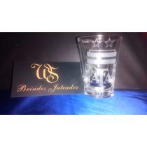 Copo De Tequila 24 Unidades Personalizados Jateados