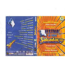 Dvd Festival De Forró - Sabadaço, Limão Com Mel, Original