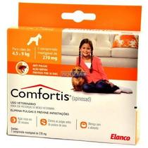 Anti Pulgas Comfortis Para Caes De 4,5 A 9kg 270mg - Elanco