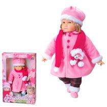 Boneca Anabelle Special Dolls Inverno 57cm Diver Toys