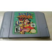 Banjo E Tooie Original Nintendo 64 Americano Ótimo Estado.
