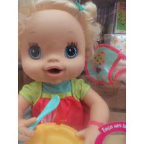 Boneca Baby Alive Meu Lindo Bebê Loira (fala Português)