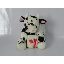 Bichinho De Pelúcia- Coleção Mamíferos Parmalat - Vaca