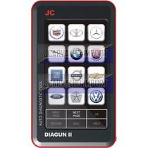 Lançamento Jc Diagun Ii, Scanner Automotivo 140 Montadoras