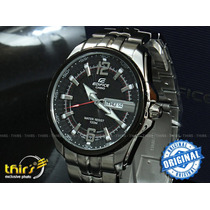 Relógio Casio Edifice Ef-131d Grande 49 Mm
