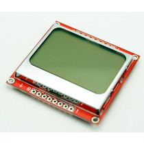 Display Lcd Gráfico 84x48 Nokia 5110 Arduino Pic Arm