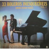 Sonora Pancho Vargas Lp Vinil 33 Boleros Inesqueciveis Vol 2