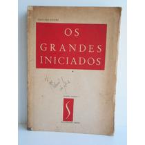 Livro Os Grandes Iniciados 1º Tomo Eduardo Schuré 1952