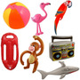 Flamingo Para Piscina Flutuante -produto Importado Ja No Br