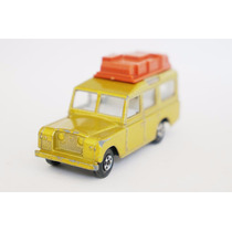 Matchbox Lesney Safari Land Rover Gld Superfast Transicional