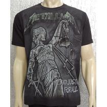 Camiseta Premium - Metallica - ... And Justice For All