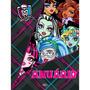 Livro Anuário Monster High - Dcl