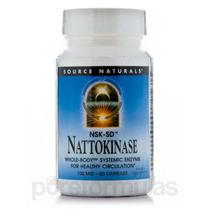 Nattokinase 100 Mg - 60 Cápsulas Por Source Naturals