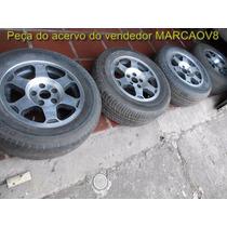 Jogo De Rodas Aro 15 Diamantadas P Opala Caravan Campinas Sp
