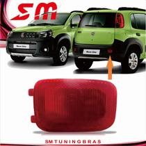 Defletor Parachoque Traseiro Uno Way Vivace 2010 11 12 13 14